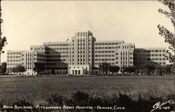 Fitzsimons Army Hospital - Main Building