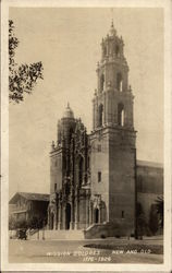 Mission Dolores - New and Old