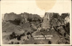 Crawford Buttes Postcard