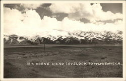 Mt. Scene U.S. 40 Lovelock to Winnemucca