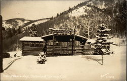 Valley View Lodge in the Snow