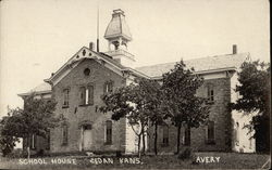 View of School House Postcard