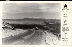 Mono Lake and U.S. Highway 395