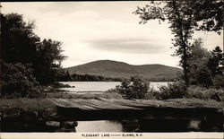 Scenic View of Pleasant Lake