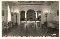 Ringling Residence - Ballroom and Reception Room