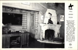 Will Rogers Ranch Home - Study