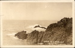 Scene at Lighthouse, Cape Foulweather
