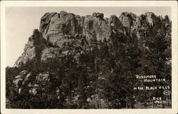 Rushmore Mountain in the Black Hills