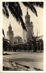Italian Towers on Avenue of Palms