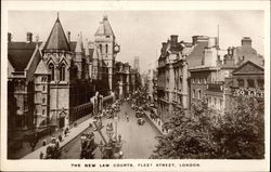 The New Law Courts, Fleet Street