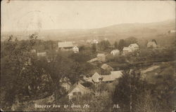 Bird's Eye View of Union, Maine
