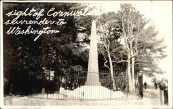 Site of Cornwallis Surrender to Washington Obelisk