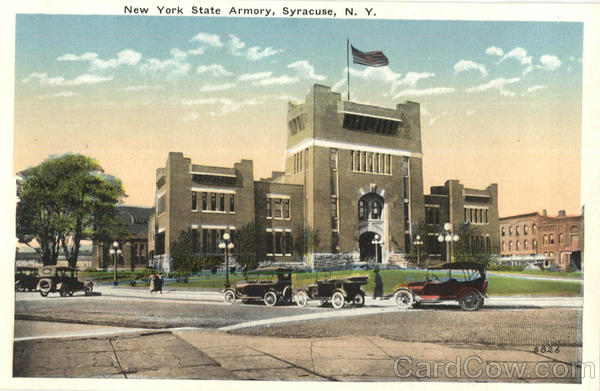 New York State Armory Syracuse