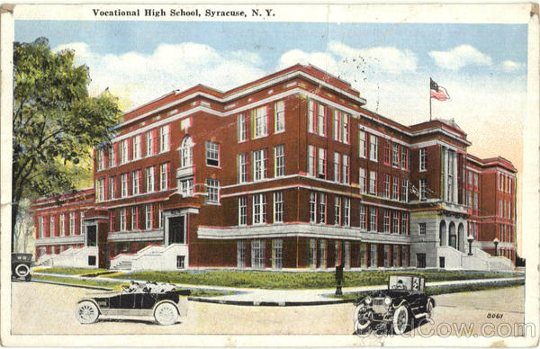 Vocational High School Syracuse New York