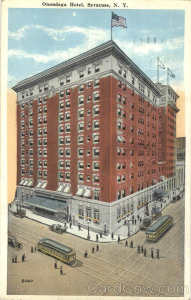 Onondaga Hotel Syracuse New York