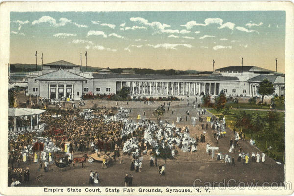 Empire State Court, State Fair Grounds Syracuse New York