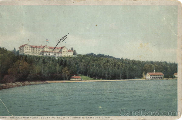 Hotel Champlain Bluff Point New York