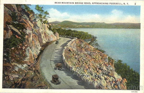 Bear Mountain Bridge Road Peekskill New York