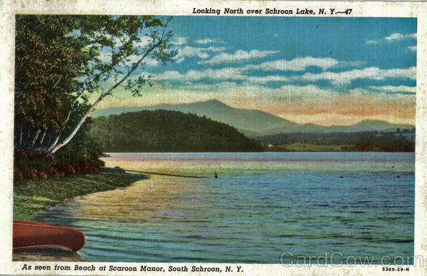 As Seen From Beach At Scaroon Manor South Schroon New York