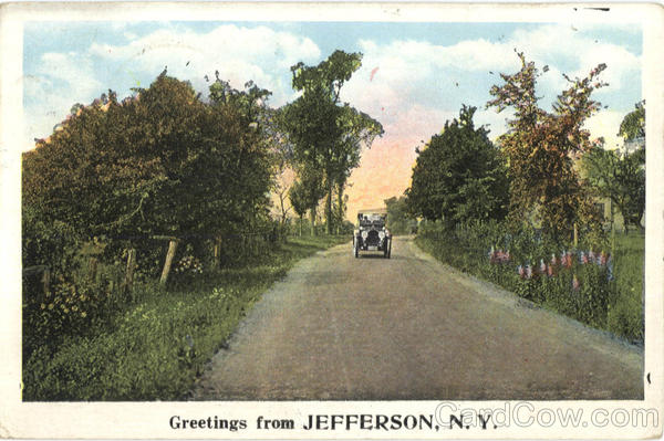 Greetings From Jefferson New York