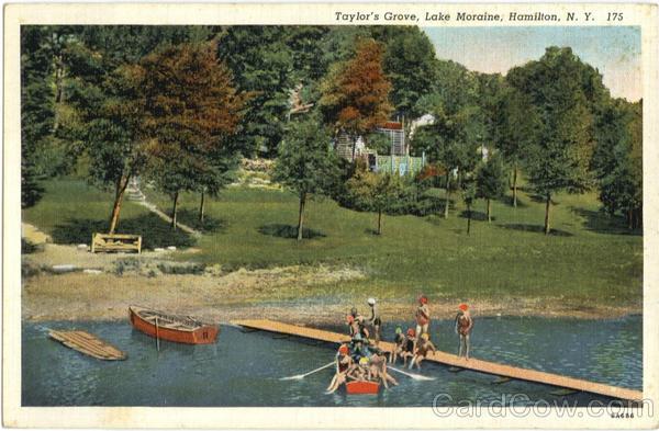 Taylor S Grove Lake Moraine Hamilton Ny