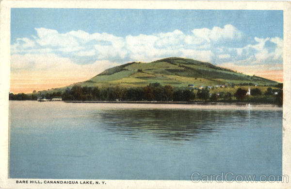 Bare Hill Canandaigua Lake New York
