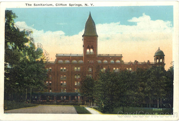The Sanitarium Clifton Springs New York