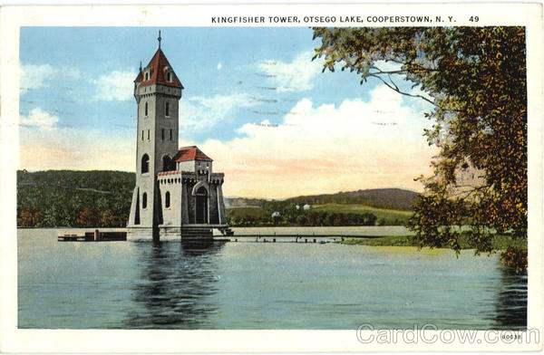Kingfisher Tower, Otsego Lake Cooperstown New York