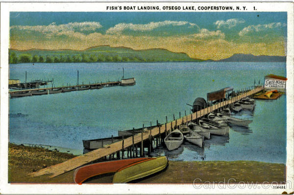Fish's Boat Landing, Otsego Lake Cooperstown New York