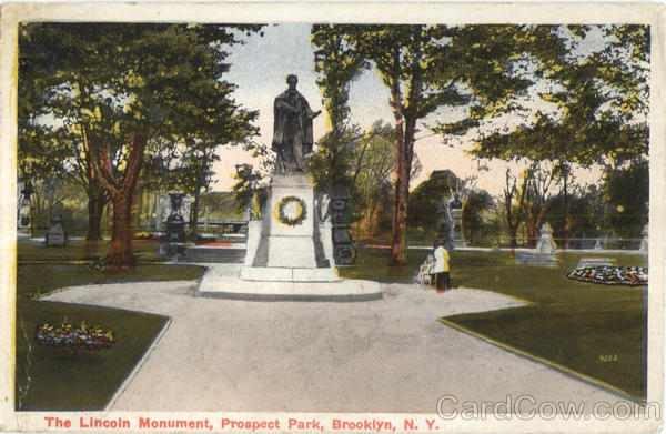 The Lincoln Monument, Prospect Park Brooklyn New York