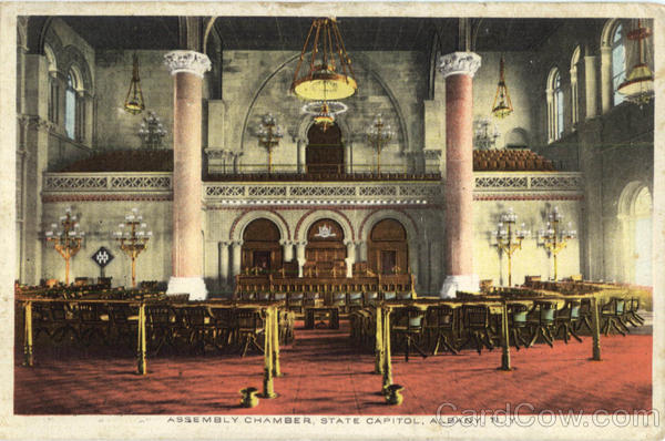 Assembly Chamber State Capitol Albany New York