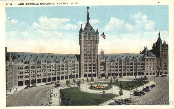 D. & H. And Journal Building Albany New York