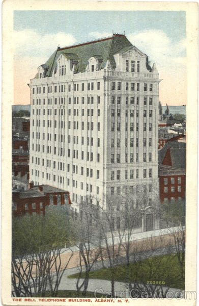 The Bell Telephone Building Albany New York