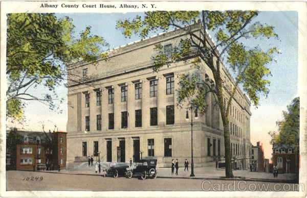 Albany County Court House New York