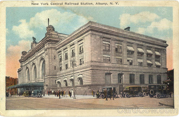 New York Central Railroad Station Albany