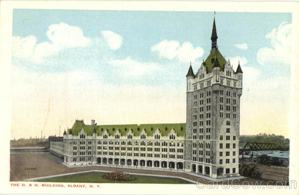 The D. & H. Building Albany New York