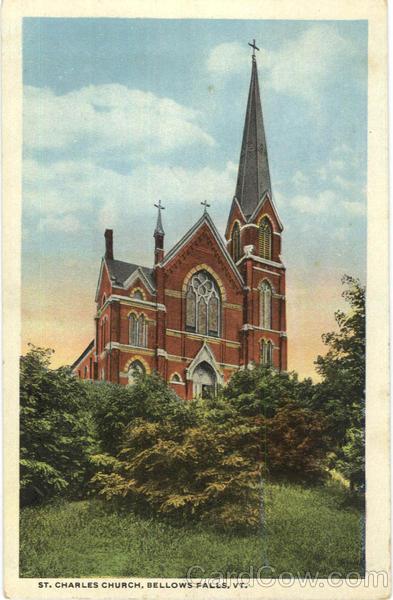 St. Charles Church Bellows Falls Vermont