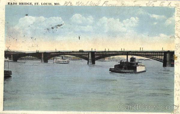 Eads Bridge St. Louis Missouri
