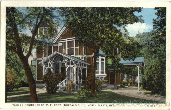 Former Residence Of W. F. Cody North Platte Nebraska
