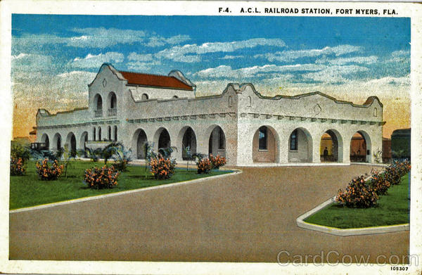 A. C. L. Railroad Station Fort Myers Florida