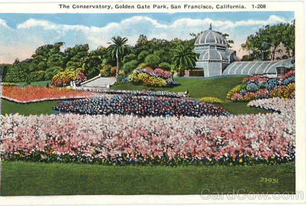 The Conservatory , Golden Gate Park San Francisco California
