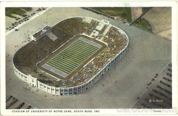 Stadium Of University Of Notre Dame South Bend Indiana