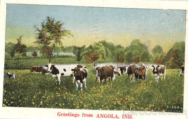 Greetings From Angola Indiana