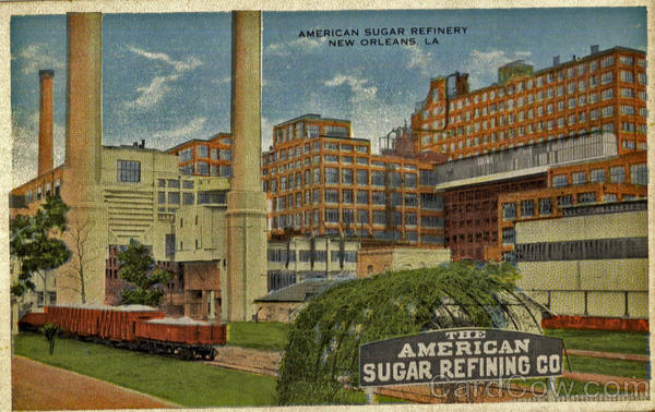 American Sugar Refinery New Orleans Louisiana
