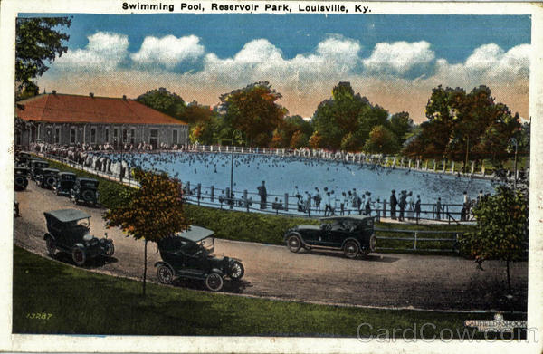 Swimming Pool Reservoir Park Louisville Ky
