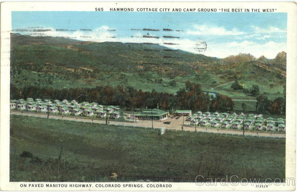 Hammond Cottage City And Camp Ground Colorado Springs