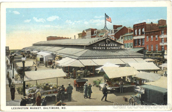 Lexington Market Baltimore Maryland