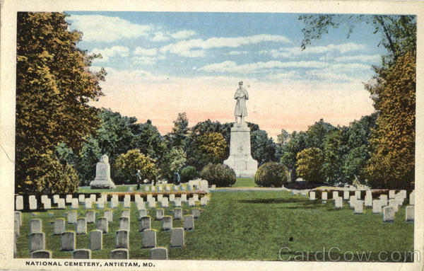 National Cemetery Antietam Maryland