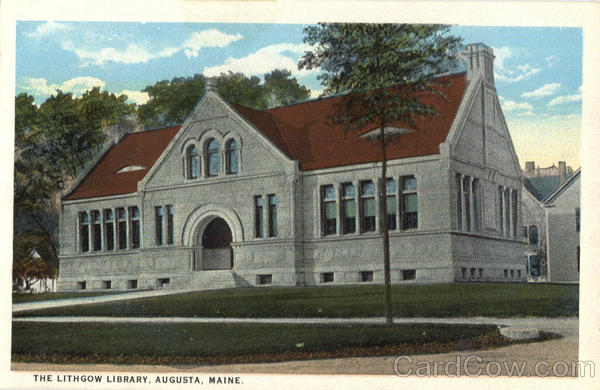 The Lithgow Library Augusta Maine
