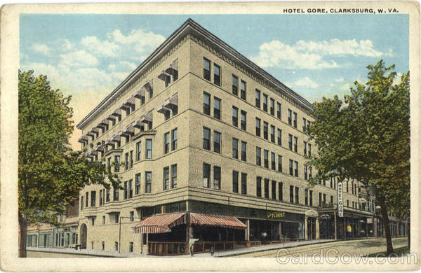 Hotel Gore Clarksburg West Virginia